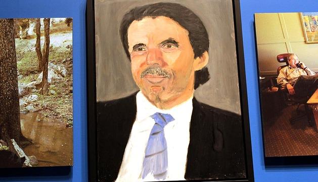 El expresidente de Estados Unidos George W. Bush exhibe en su reluciente museo presidencial treinta retratos de líderes mundiales, entre ellos José María Aznar.