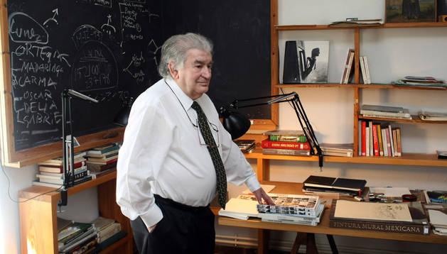 El poeta Antonio Gamoneda en 2009
