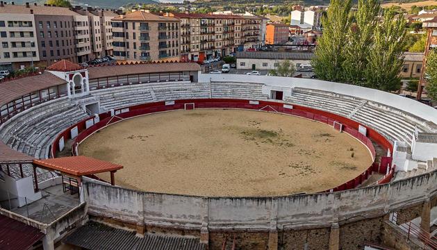 Imagen general de la plaza de toros