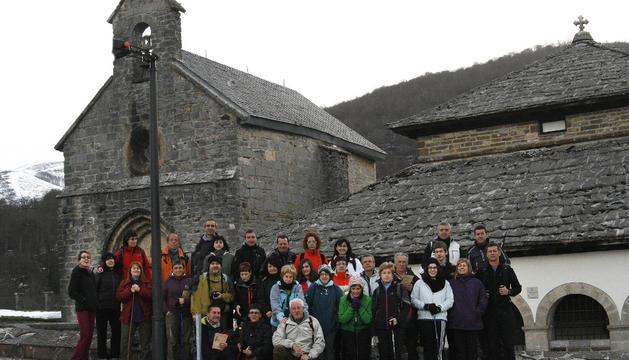Los participantes en esta primera salida con la que despidieron el mes de marzo