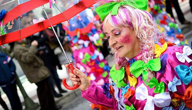La fotografía ganadora del II Concurso de Fotografía de Carnaval de la Ribera