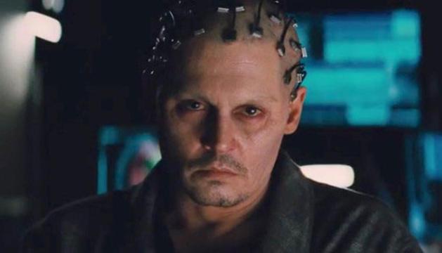 Johnny Depp caracterizado en 'Transcendence'.
