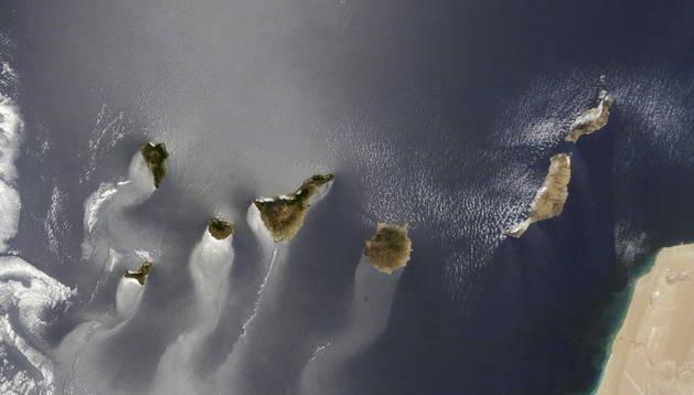 La imagen de las Islas Canarias que los seguidores de la NASA en internet han elegido como foto del año.