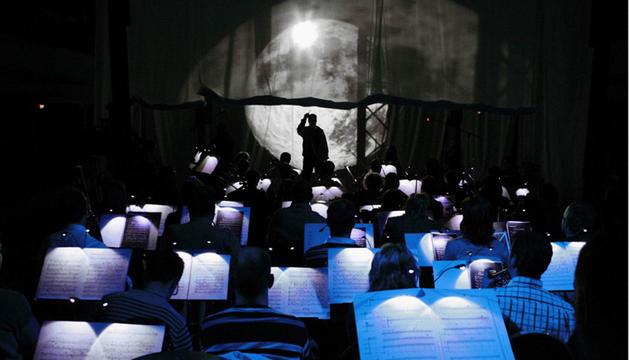 La Orquesta Sinfónica de Navarra, interpretando Carmina Burana