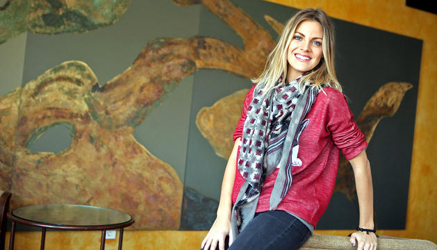 La actriz Amaia Salamanca
