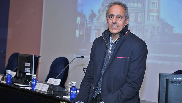 Raimon Pèlach Pániker, presidente de la Asociación Navarra de Pediatría
