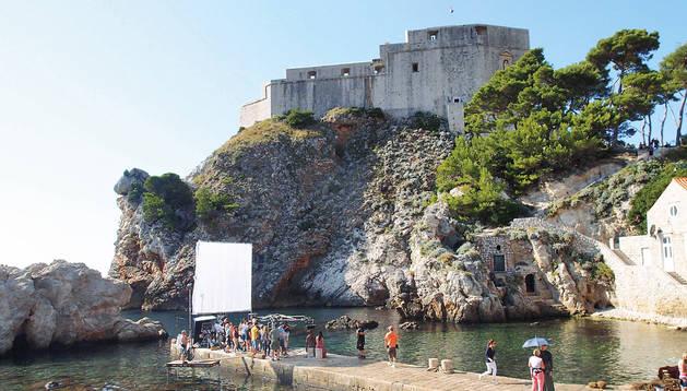 Imagen de la fortaleza de Lovrijenac, en Dubrovnik, que sirve para recrear la Fortaleza Roja, sede del Trono de Hierro de los Siete Reinos