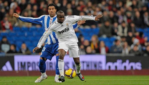 Lass, en su etapa en el Real Madrid