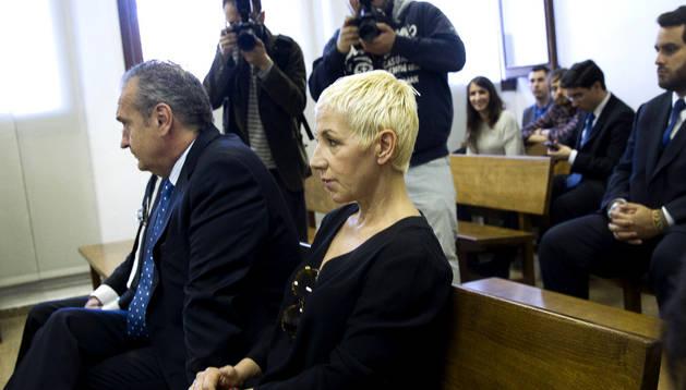 Ana Torroja, en el banquillo