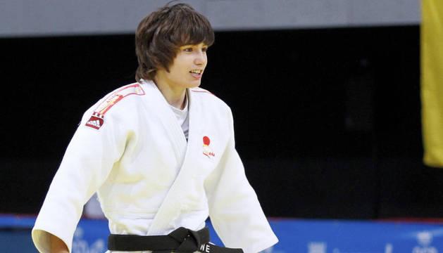 La judoca navarra, Jaione Ekisoain