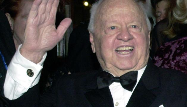 Mickey Rooney, en una imagen de 2002