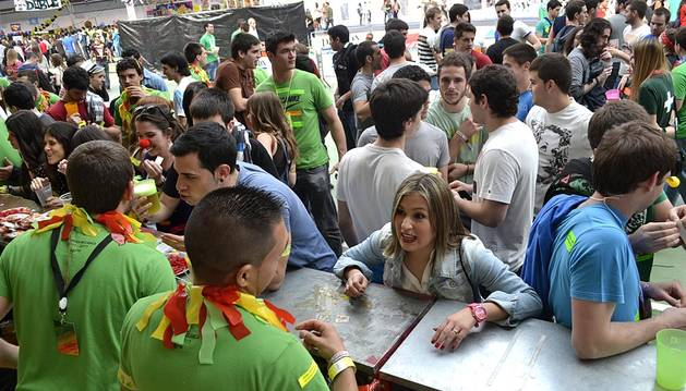 El festival universitario más esperado de la temporada se ha estrenado con sol y un goteo constante de gente.