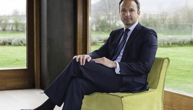 Javier Bonell, director del Centro de Empresas de Bankia en Navarra
