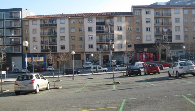 Zona ZERT en la trasera de plaza Tilos
