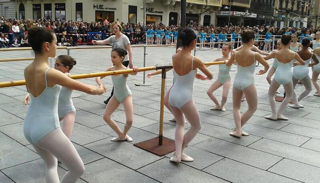 Este sábado, en el Ensanche, por el Día de la Danza