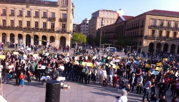 Jornada festiva en Pamplona por