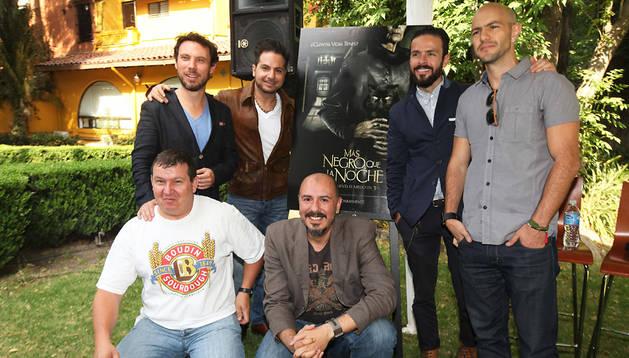 De izquierda a derecha, arriba, Leonardo Zimbrón, Marco Polo Constanse, Josemaria Torre y Marcel Ferrer. abajo, Carlos Taibo y Henrry Bedwell