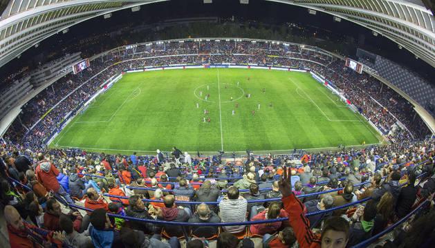 Estadio de El Sadar.