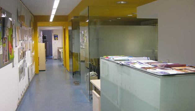 Centro de Asociaciones del Ayuntamiento de Pamplona.