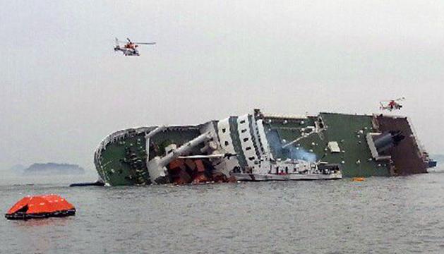 El hundimiento del barco, en el que viajaban 477 pasajeros, se produjo más rápido de lo esperado.