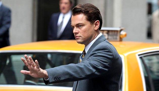 Leonardo Dicaprio, en una escena de 'El lobo de Wall Street'.