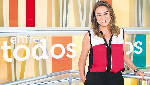 Toñi Moreno, presentadora de Entre todos.