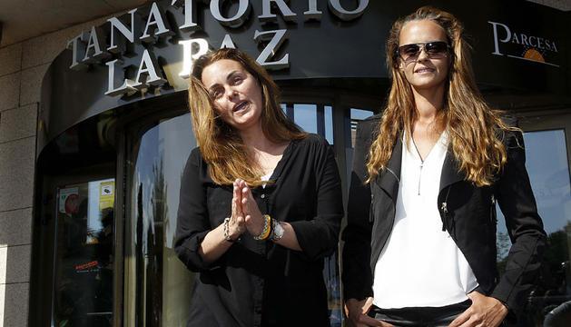 Carmen y Shaila Morales, hijas de Junior y Rocío Dúrcal.