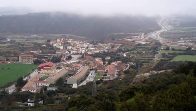 Vista general de la localidad de Yesa