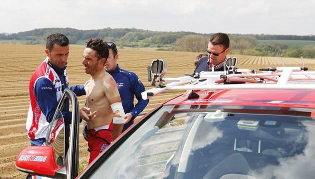 Purito abandona la Amstel Gold Race tras sufrir una caída