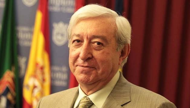 El concejal de Seguridad Ciudadana de Pamplona Ignacio Polo