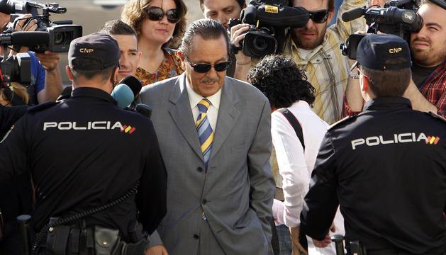 Julián Muñoz en una imagen de 2013