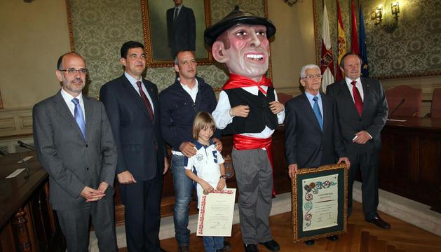 De izda. a dcha.: Alberto Catalán, Luis Casado, Roberto Rodríguez, Asier Jiménez, Alfonso Verdoy y Rafael Remírez de Ganuza