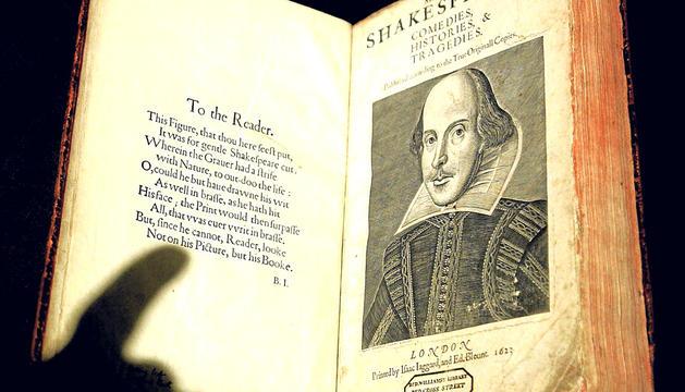 Una de las primeras copias de una obra de Shakespeare