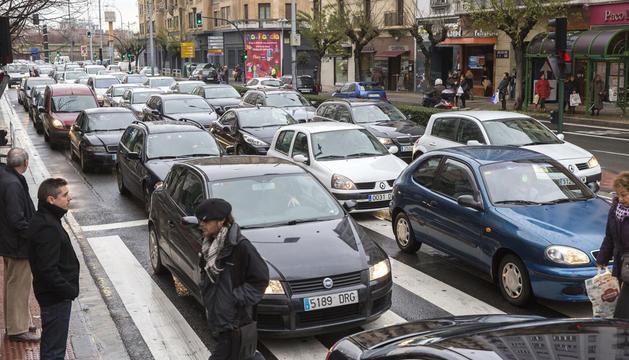 Circulación en Pamplona