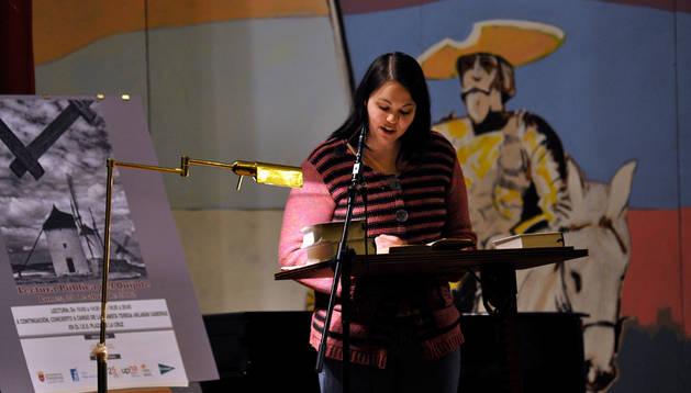 Lectura de 'El Quijote' en el instituto Plaza de la Cruz
