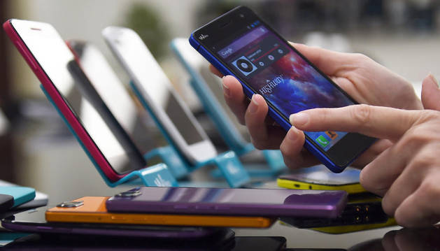 Teléfono inteligente. AFP