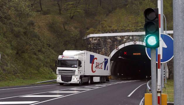 Túnel de Belate. Archivo DN