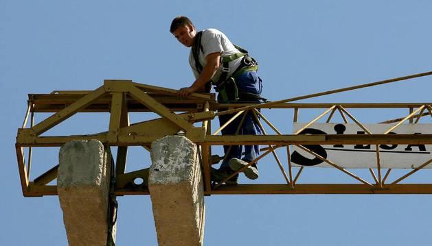 Trabajador de la construcción. EFE