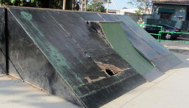 Aspecto que presenta la pista de skate