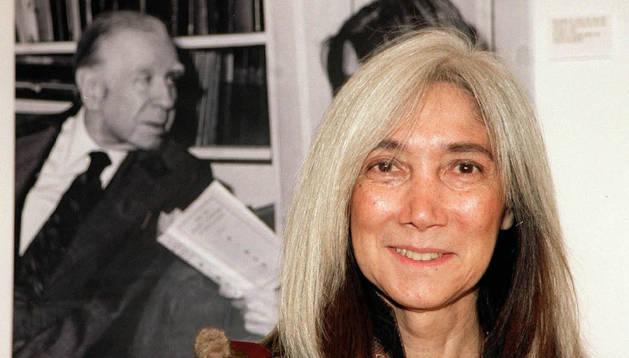 María Kodama. Archivo DN