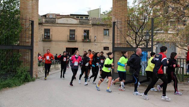 Participantes en la pasada edición de la Vuelta a la Mejana