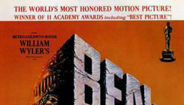 Cartel de la película 'Ben-Hur', de 1959