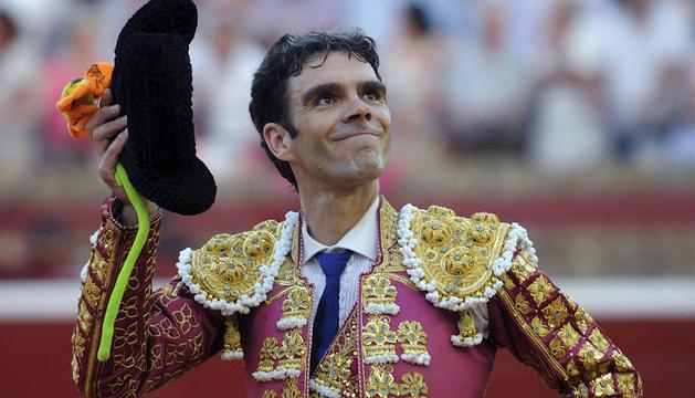 José Tomás, en Huelva en 2012.
