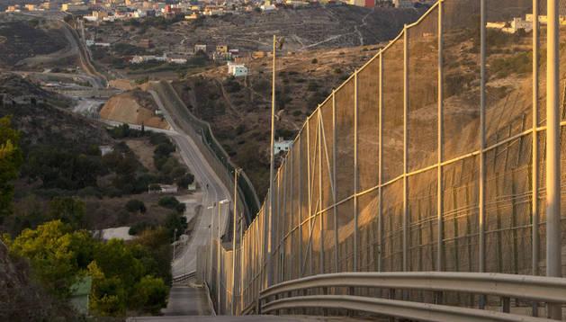 La valla de Melilla en una imagen de 2013