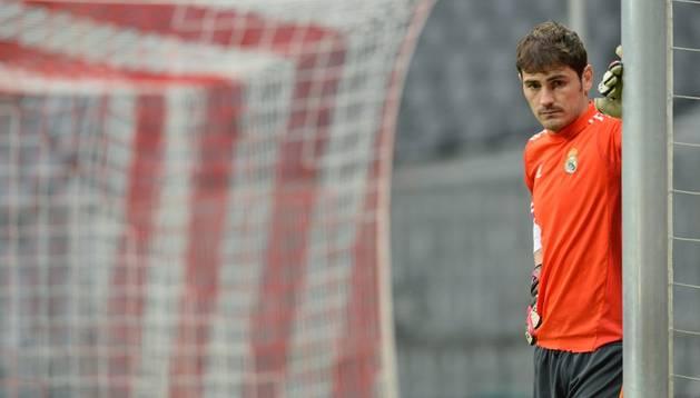 El portero del Real Madrid, Iker Casillas