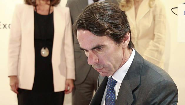 El expresidente del Gobierno, José Mª Aznar asiste a un almuerzo organizado por el Foro ABC