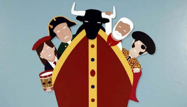 Imagen del cartel ganador, 'Equipazo'.