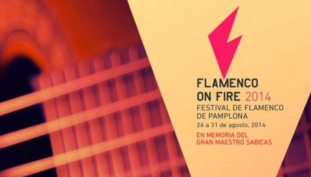 Cartel del I Festival Flamenco On Fire