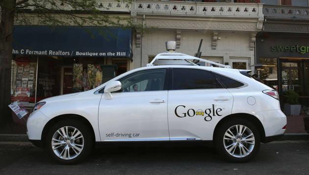 'Self driving Car' de Google. AFP