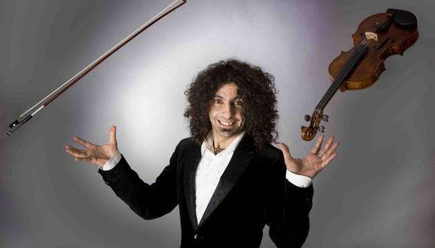 El violinista Ara Malikian. Cedida